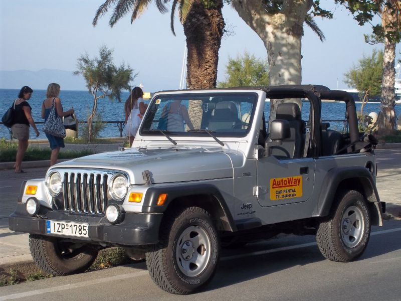 rent a car in kos island jeep wrangler cabrio. Black Bedroom Furniture Sets. Home Design Ideas