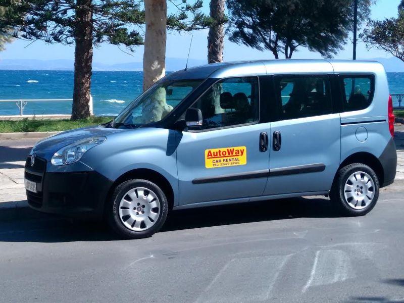 Rent A Car In Kos Island Fiat Doblo 7 Seater Www